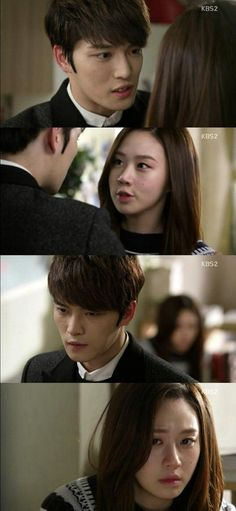 [Spoiler] 'Spy - Drama' Ko Sung-hee confesses to Kim Jae-joong she is a sp