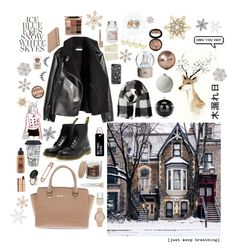 """""""Christmas is coming..."""" by c-b-bligaard on Polyvore featuring Dr. Martens, Barneys New York, SONOMA Goods for Life, Kate Spade, OPI, Michael Kors, Burberry, John Lewis, Northlight Homestore and Anne Klein"""