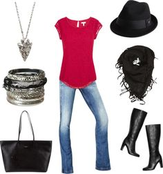 """Saturday In The City"" by alagarra on Polyvore"