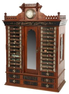 Brainerd & Armstrong Spool Cabinet : Lot 29