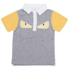 cd35557ad Check out Fendi Monster Polo Shirt on Avoir Fashion! Fendi, Polo Shirt, Polo