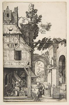 The Nativity - Albrecht Dürer  (German, Nuremberg 1471–1528 Nuremberg)