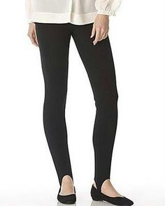 Stirrup stretch pants that hooked under the foot - usually worn with angora sweaters.