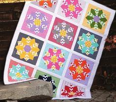Free Quilt Pattern: Riley Blake Designs #freequiltpattern #dresden