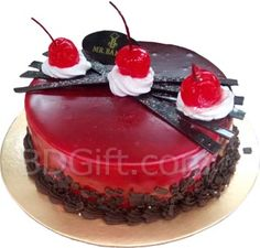 2.2 Pounds Red Velvet Round Cake Of Mr. Baker. If you  want to use this cake for your birthday, you can do it. maximum people wish to there nearest people by sending this Cake. You can wish to your friends ans family of Birthday or any occasion.  Pick Here https://www.bdgift.com/shopexd.asp?id=7161