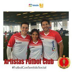 Sebastián Vega, Gianina Arana y Marcelo Cezan
