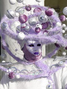 Venice Carnival 2013 by Lesley McGibbon Venice Carnival Costumes, Venetian Carnival Masks, Carnival Of Venice, Venitian Mask, Carnival Headdress, Ash Wednesday, Painted Faces, Masquerade Masks, Mardi Gras