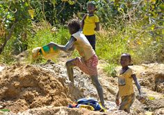 The electronics industry: Make a serious effort to eradicate child labour from goldmines. Electronics Companies, Together We Can, Effort, Industrial, Children, How To Make, Young Children, Boys