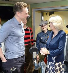 Speaking to Hiddleston Camilla admits that she was 'gripped' by the programme and asked wh...