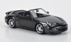 "Porsche 911 Turbo Cabriolet 997 II Grey Metallic ""Top Gear"" Version 1/43 by Minichamps 519436930"