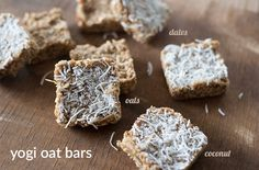 These oat bars are incredible, plus they are sweetened with dates so you can be worry free about processed sugars! Nutrition Chart, Nutrition Guide, Healthy Fats, Healthy Snacks, Vegan Nutritionist, Date Bars, Broccoli Nutrition, Processed Sugar, Vegan Treats