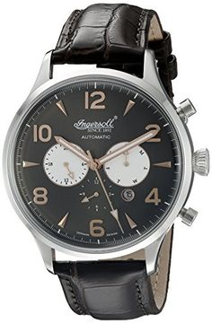 New Arrivals 2017 Mens Top Fashion Brands #Promotions  New In Store Today Ingersoll Men's Automatic Watch with Dial Analogue Display and Leather Strap   #Dontmissout #FashionSale  #Summer #Mensware #TShirts #MensClothing #JustFeatured #UrbanFashion
