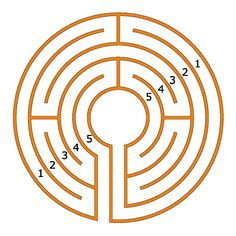 The 5-circuit Chartres labyrinth