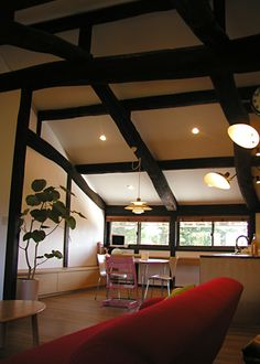 Old Folks, Japanese Architecture, House Renovations, Minka, Take Me Home, Traditional House, Good Old, Bed Room, Ceiling Lights
