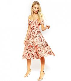 23 Gorgeous (And Affordable!) Dresses From ASOS via @WhoWhatWear I <3 the structure of this dress