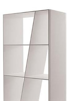 Shelf bookcase:  Design: Naoto Fukasawa Manufacturer: B&B Italia