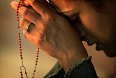 We should all can and pray the Holy Rosary daily. The prayer of the Rosary bring us closer to God Praying The Rosary, Holy Rosary, Praying Hands, Rosary Novena, Fulton Sheen, Spiritual Warrior, Spiritual Garden, Saint Esprit, Saint Louis
