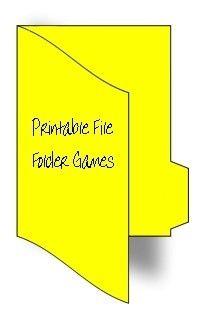 Tons of file folder games