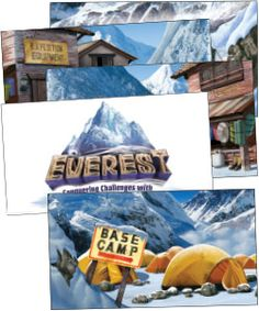 Giant Decorating Poster Pack--Need a gear shack at your VBS? Or want to add a base camp to your church's decorations? No worries. These 3 ft. x 5 ft. posters combine to form exactly what you want to see—including the one-of-a-kind Everest VBS logo. Spread these scenes everywhere! (set of 5 posters) #VBS2015 #EverestVBS