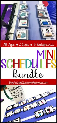 Every special education teacher needs tons of visuals, particularly if they work with students with autism.  This bundle has something for all ages and all skill.  Check it out!