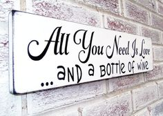 Great sign to go along with a bottle of wine gift! #valentinesdaygifts
