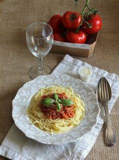 Spaghetti bolognaise végétariennes
