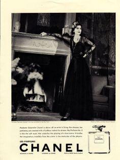 Gabrielle Chanel for Chanel n°5 - 1937