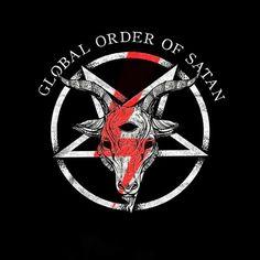Hail Satan Hail the Global order od Satan #globalorderofsatan #satan #satanism Satan, Polish, Cards, Instagram, Vitreous Enamel, Maps, Devil, Playing Cards, Nail