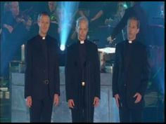 """Irish Blessings and Pie Jesu...""""The Priests"""" live at Armagh Cathedral. Three real priests spreading the word through music. Just beautiful."""