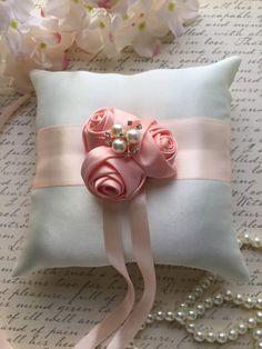 Ring pillow wedding ring pillow bridal ring por AnnaBridalBoutique