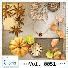 Vol. 0051 - Autumn Mix  by Doudou's Design  #CUdigitals cudigitals.comcu commercialdigitalscrapscrapbookgraphics