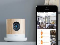 The Withings Home is an elegant HD camera with environmental sensors to help you stay connected while making your home a healthier, safer place.