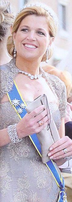 Princess Máxima Zorreguieta Cerruti (1971-living2013) Argentina wife of Prince Willem-Alexander (Willem-Alexander Claus George Ferdinand) (1967-living2013) Prince of Orange, Netherlands heir.