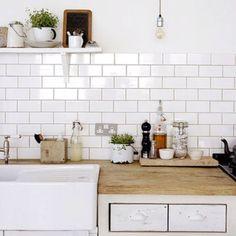 hollygoeslightly kitchen redesign butler sink