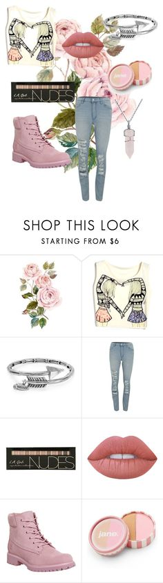 """Untitled"" by paige777 ❤ liked on Polyvore featuring Alex and Ani, Cheap Monday, Lime Crime, Timberland, jane and Bling Jewelry"