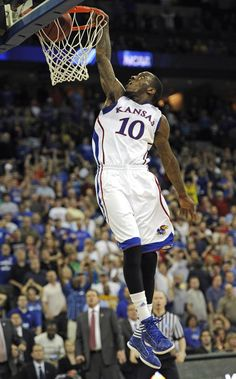 KU win over Purdue - 2012 NCAA Tournament - 2nd Round. Picture of Taylor