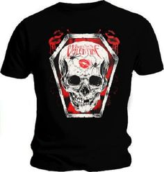 BULLET FOR MY VALENTINE T Shirt BFMV SIZE XL Skull Kiss OFFICIAL Music Merch