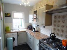 Lovely small space kitchen