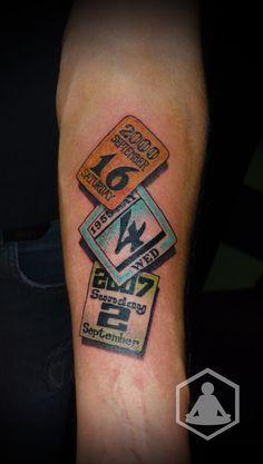 Image result for calander Tattoos