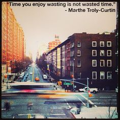 Come waste some #time with us in the #Meatpacking District.