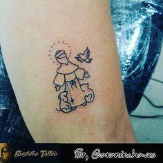 Resultado de imagem para tatuagem são francisco de assis delicada