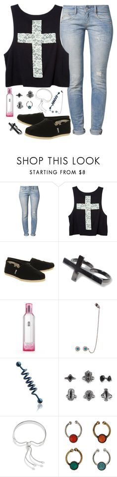 """I wish I could make it easy, easy to love me"" by rocketsheep ❤ liked on Polyvore featuring Herrlicher, TOMS, Pull&Bear, Victoria's Secret, Pamela Love, MISBHV, BKE, Monica Vinader, lyrics and toms"