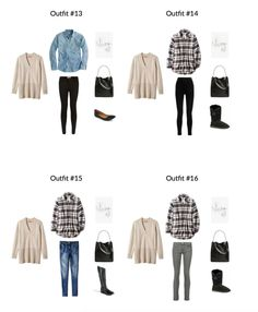 """Click Here To Return To The Blog Go To The E-Book Store  Is yourcloset full of clothes,but you """"have nothing to wear""""? Are you a stay-at-home-mom or are a work-from-home entrepreneur? Do you need comfortable, yetfunctional outfits? You need… The Stay At Home Mom Capsule Wardrobe e-Book: Winter 2017Collection! A complete capsule wardrobe…"""