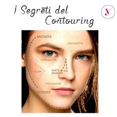 Il contouring ha ancora dei segreti per te? Con questa immagine non più! http://www.vanitylovers.com/prodotti-make-up-viso/illuminanti-contouring-viso.html?utm_source=pinterest.com&utm_medium=post&utm_content=vanity-contouring&utm_campaign=pin-vanity