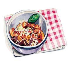 Voyeur Magazine - Food Illustration - Holly Exley Illustration