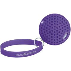 MANHATTAN 162326 Sound Science Atom Glowing Bluetooth(R) Speaker (Purple)