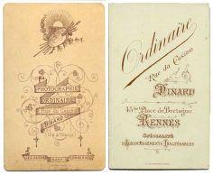 ORDINAIRE - 1 et 2 - Dinard et Rennes, Ille-et-Vilaine  (vieil album)