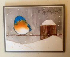 Is it Spring Yet by Dolly Watt - Cards and Paper Crafts at Splitcoaststampers