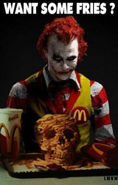 Why so serious Ronald?