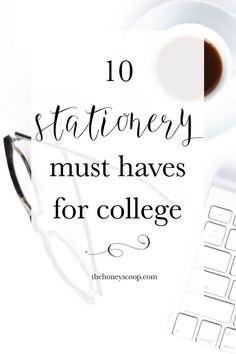 10 Stationery Must-Haves For College - The Honey Scoop